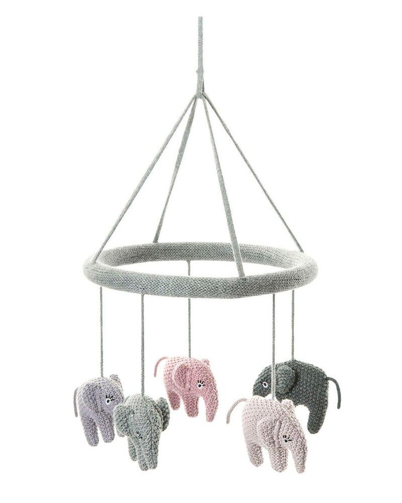 Image of   Smallstuff Uro Med Elefanter, Rose